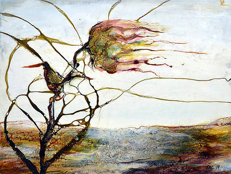Pink Flower by Jennifer  Creech