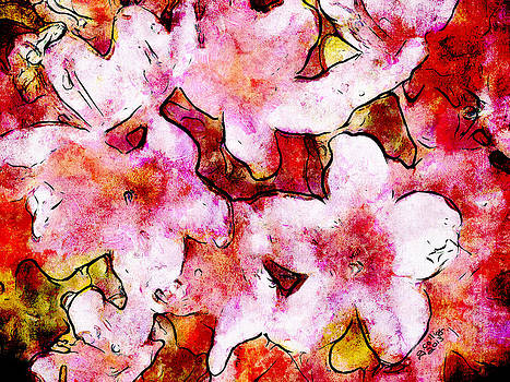 Pink Flowers 2 by Greg Collins