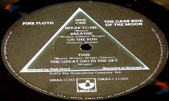 Marcello Cicchini - Pink Floyd - The Dark Side of the Moon Side 1
