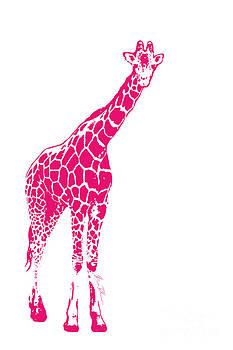 Pink Giraffe by Beauty Balance Design