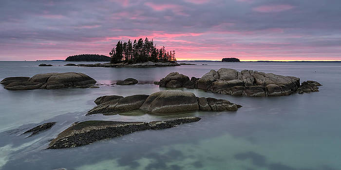 Pink Granite Glow by Patrick Downey