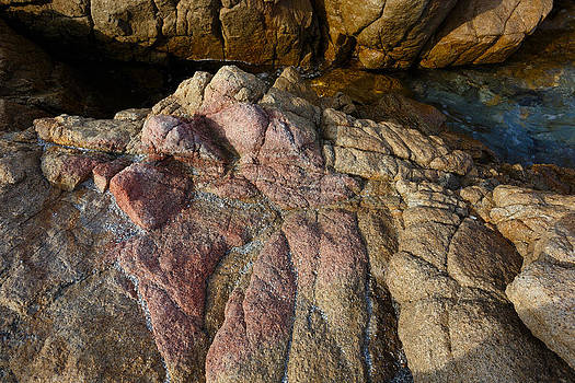 Pink granite by Paul Indigo