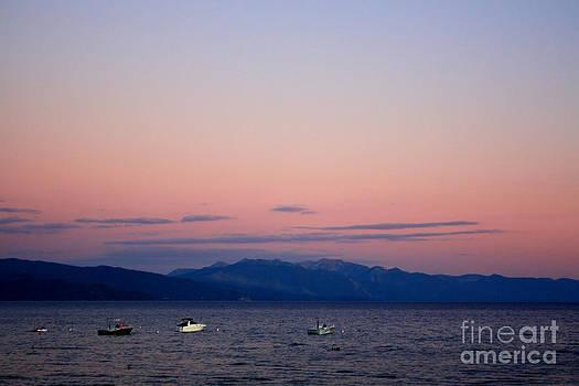 Danielle Groenen - Pink Lake Tahoe Sunset