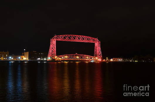 Pink Lift Bridge by Whispering Feather Gallery