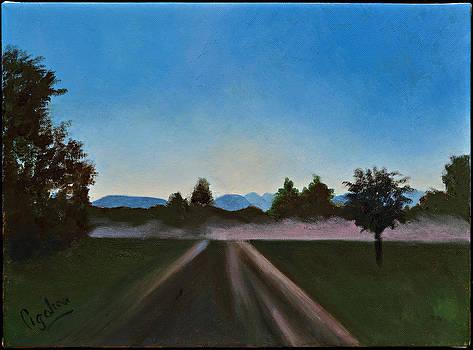 Pink Mist by Gloria Cigolini-DePietro