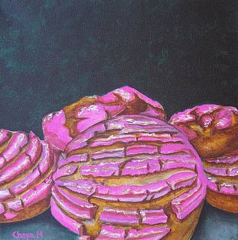Pink Molletes by Manny Chapa