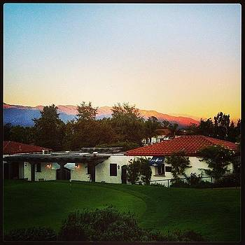 Pink Moment. #ojaivalleyinn #pinkmoment by Tristan Thames