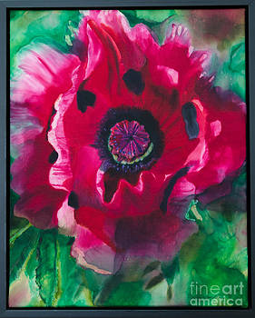Pink Oriental Poppy by Goodson Kathy