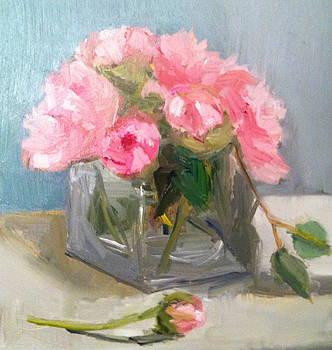 Pink Peonies by Joyce Colburn