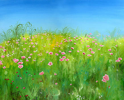 Pink Poppies by Cecilia Brendel