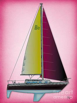 Pink Retru by Regina Marie Gallant