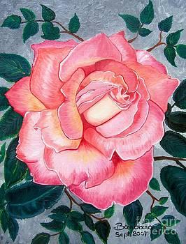 Pink Rose by Barbara Pelizzoli