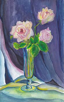 Pink Rose by Pragya Maheshwari