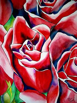 Pink Roses by Sacha Grossel