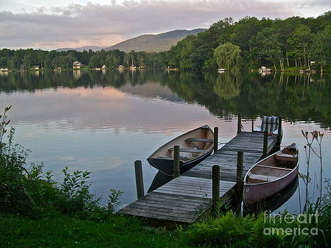 Pink Rowboats by Linda Zolten Wood