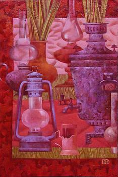 Pink Still Life by Nadia Egorova