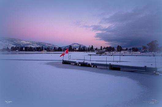 Guy Hoffman - Pink Sunrise - Skaha Lake 2/25/2014