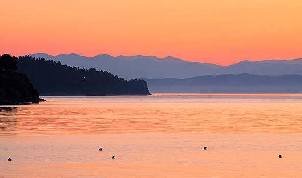 Pink Sunrise by Viacheslav Savitskiy