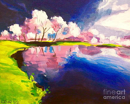 Pink Trees by Linda Zolten Wood