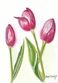 Pink Tulips by Brooke Finley