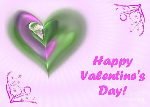 Pink Valentine by Svetlana Nikolova
