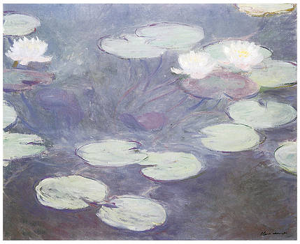 Claude Monet - Pink Water Lilies