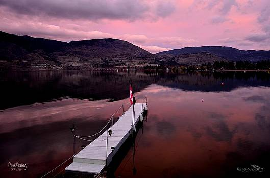 Guy Hoffman - PinkRising 02 - Skaha Lake 4-7-2014