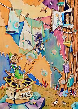 Arte Venezia - Pinocchio in Venice - Children Book Illustration