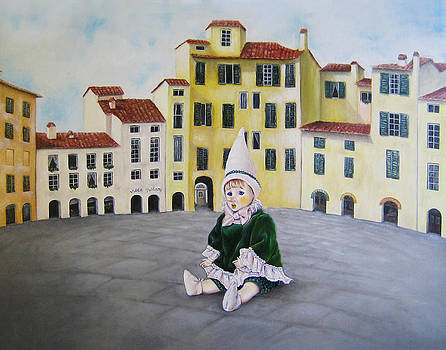 Pinocchio - Memory of Tuscany by Junko Van Norman
