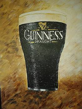 Pint of Guinness by Pauline McCarville