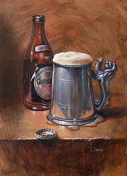 Pint of Guinness by Timothy Jones