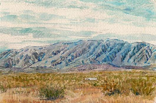 Pinto Mountains by Sandra Lytch