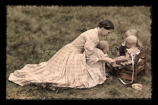 Wes and Dotty Weber - Pioneer Mother and Children