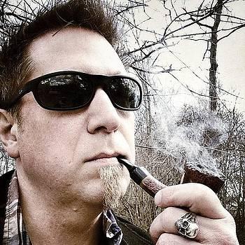 #pipe #smoke #selfie #distinguished by Craig Kempf