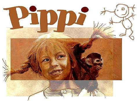 Pippi Longstocking - fan version by Richard Tito