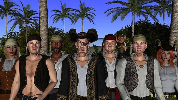 Robert Crepeau - Pirate Gang