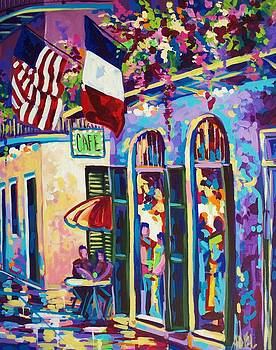 Pirates Alley Spring by Elaine Adel Cummins