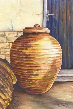 Pitharia - Ceramic Storage Jars by Oty Kocsis