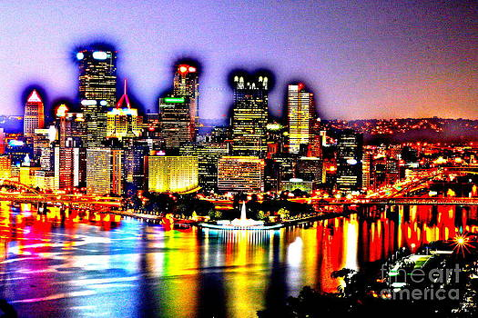 Pittsburgh - Colorful by Jay Nodianos
