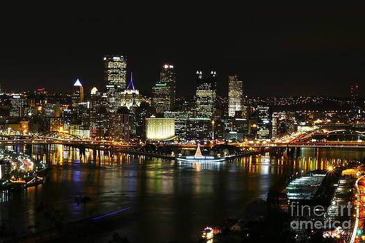 Pittsburgh Christmas 2013 - 1 by Jay Nodianos