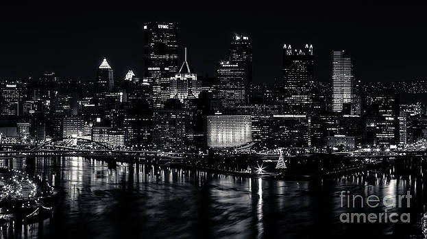 Pittsburgh Christmas by Mike Vosburg