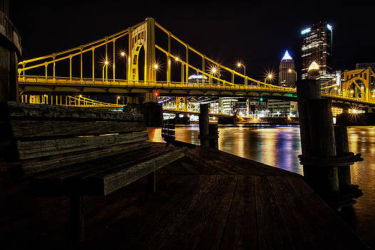 Pittsburgh Dock Revisited by Mike Vosburg