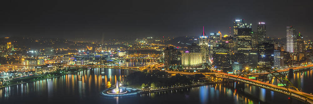 Pittsburgh Night by Brian Young