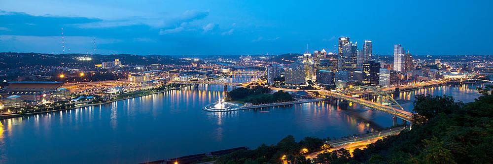 Pittsburgh Panorama by Mark Van Scyoc
