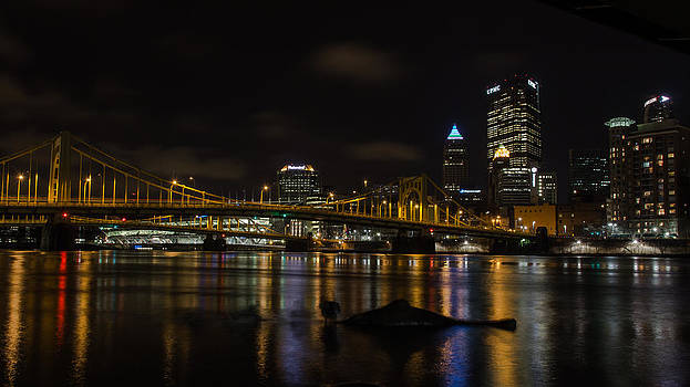 Pittsburgh Waterfront by Mike Vosburg
