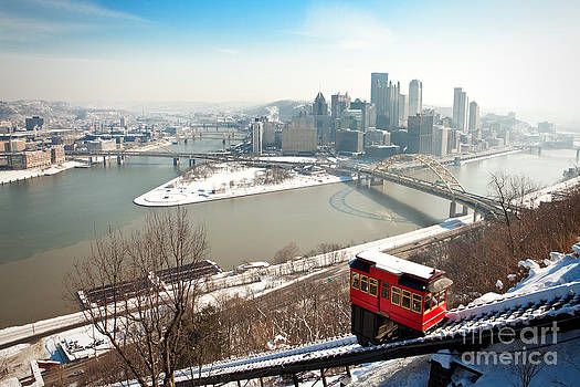 Pittsburgh Winter Morning by Sharon Dominick