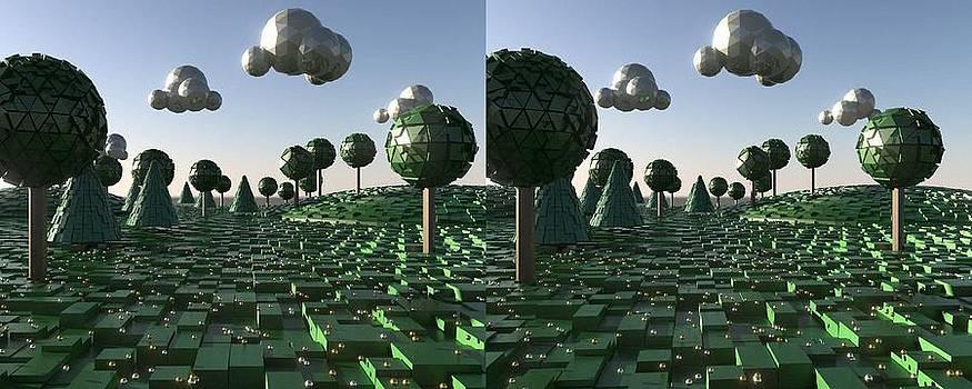 Marcin and Dawid Witukiewicz - Pixel Landscape