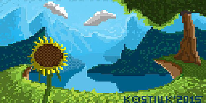 Thomas Olsen - Pixel Landscape