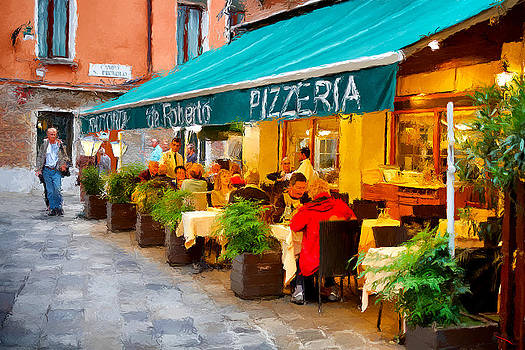 Pizzeria in Venice by SM Shahrokni