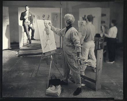 The Drawing Studio - PJ Mann by Gary Auerbach
